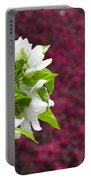 Crabapple Blooms Portable Battery Charger