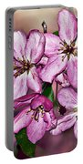 Crabapple Blossom Portable Battery Charger
