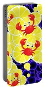 Crabs On Lemon Portable Battery Charger