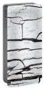 Cracked Wood Pattern Portable Battery Charger