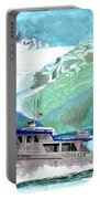 Crackerjack Charter Boat Fishing In Alaska Portable Battery Charger