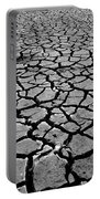 Cracks For Miles Black And White Portable Battery Charger