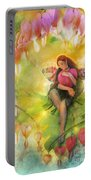 Cradle Your Heart Portable Battery Charger by Aimee Stewart