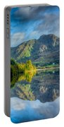 Craf Nant Lake Portable Battery Charger by Adrian Evans