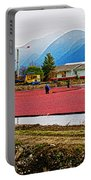 Cranberry Field Workers Portable Battery Charger