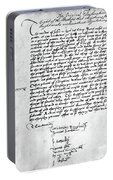 Cranmer Declaration, 1537 Portable Battery Charger