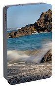 Crashing Of The Waves Portable Battery Charger