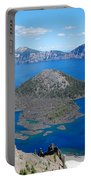 Crater Lake Wizard Island Portable Battery Charger