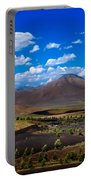 Craters Of The Moon Portable Battery Charger by Robert Bales