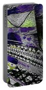 Crazy Cones Purple Greenl2 Portable Battery Charger
