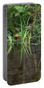 Creek Grass Portable Battery Charger