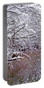 Creekside In The Snow 2 Portable Battery Charger