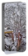 Creekside In The Snow Portable Battery Charger