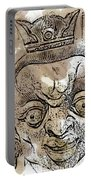 Creepy Mask Portable Battery Charger