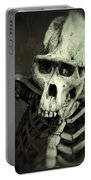 Creepy Skull Portable Battery Charger