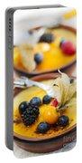 Creme Brulee Dessert Portable Battery Charger