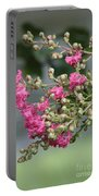 Crepe Myrtle After The Rain Portable Battery Charger