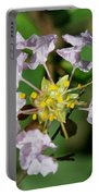 Crepe Myrtle Blossom Ring Portable Battery Charger
