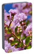 Crepe Myrtle Portable Battery Charger