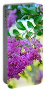 Crepe Myrtle Tree By Kaye Menner Portable Battery Charger