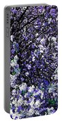 Crepe Myrtle Tree Purple Lilac Spring Portable Battery Charger