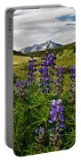 Crested Butte Lupines Portable Battery Charger
