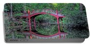 Crim Dell Bridge In Summer Portable Battery Charger
