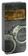 Crime Scene Investigation Portable Battery Charger by Paul Ward