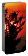 Crimson Sunset Portable Battery Charger
