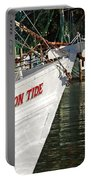 Crimson Tide Bow Portable Battery Charger