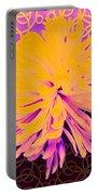 Crisantemo Dorado Portable Battery Charger