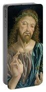 Cristo Salvator Mundi, C.1490-94 Portable Battery Charger