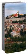 Croatian City Motovun  Portable Battery Charger