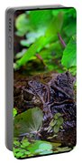 Crocodilian Hunter Portable Battery Charger by Gary Keesler