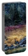 Crooked River At Smith Rock Portable Battery Charger