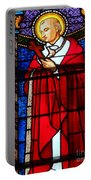 Cross And Red Robe Portable Battery Charger