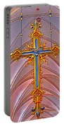 Cross Of Church Of Our Lady Portable Battery Charger