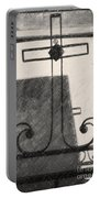 Crosses Voided Wrought Iron _ Nola Portable Battery Charger