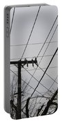 Crossing Power Lines Portable Battery Charger