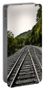 Crossing Tracks Portable Battery Charger