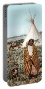 Crow Indian 1902 Portable Battery Charger