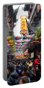 Crowds Throng Shanghai Chenghuang Miao Temple Over Lunar New Year China Portable Battery Charger