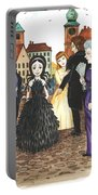 Crowgirl In The Dress Portable Battery Charger