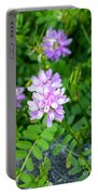 Crown Vetch Wildflowers Portable Battery Charger