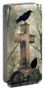 Urban Graveyard Crows Portable Battery Charger