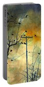 Crows Colors Portable Battery Charger