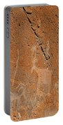 Capital Reef Rock Art Panel A Portable Battery Charger