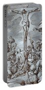 Crucifixion Portable Battery Charger by Johann or Hans von Aachen