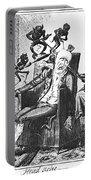 Cruikshank: Headache, 1819 Portable Battery Charger