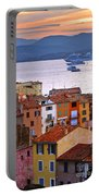 Cruise Ships At St.tropez Portable Battery Charger